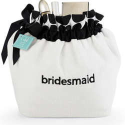 Bridesmaid Polka Dot Terry Pamper Pouch