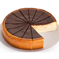 """9"""" New York Chocolate Fudge Cheesecake"""