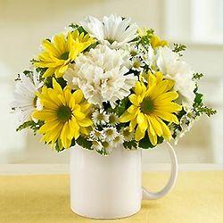 Get Well Coffee Mug Bouquet