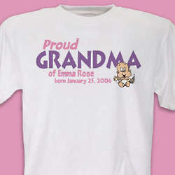 Proud of My Girl T-Shirt