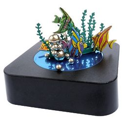Magnetic Aquarium Sculpture