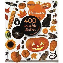 Halloween Reusable Stickers in Book