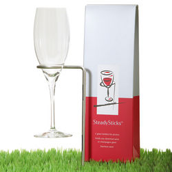 Steadysticks Wine Glass Holders
