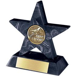 Black Mini Star with Base Award