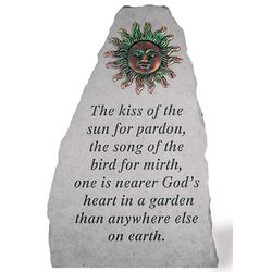 The Kiss Of The Sun Garden Accent Rock