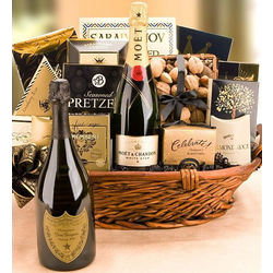 Dom Perignon Luxury Basket
