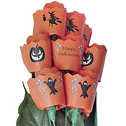 13 Halloween Paper Roses