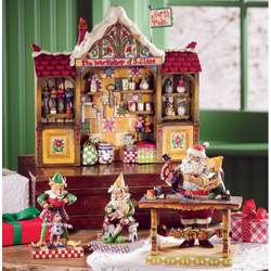 Santa's Workshop Four Piece Set