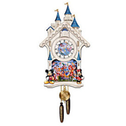 Disney's Happiest of Times Cuckoo Clock