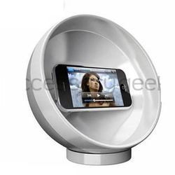 Cellphone Parabolic Sound Amplifier Sphere Holder