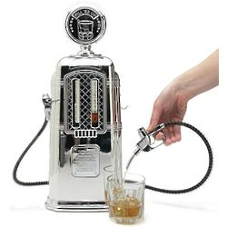 Dual Fuel Old Fashioned Gas Pump Liquor Dispenser