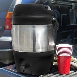 Beer Keg Insulated Beverage Dispenser and Cooler
