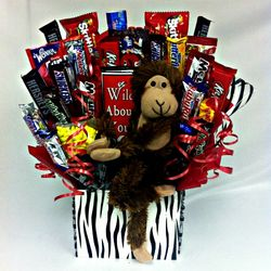 Wild About You Candy Bouquet