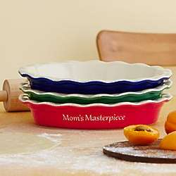 Personalized Pie Baking Dish