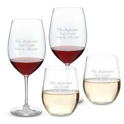 """Riedel Vinum Xl Cabernet & """"O"""" Voignier Glasses"""
