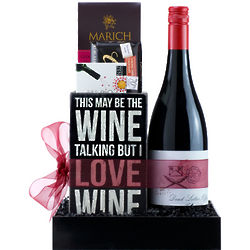Wine Wisdom Gift Basket