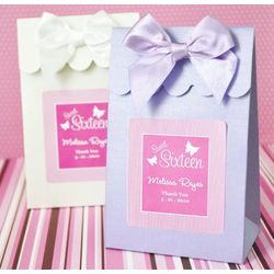 Personalized Teen Birthday Favor Bags