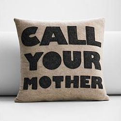 Call Your Mother Eco-Friendly Pillow