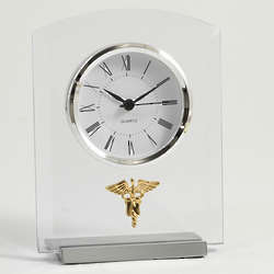 Novo Nursing Glass Clock