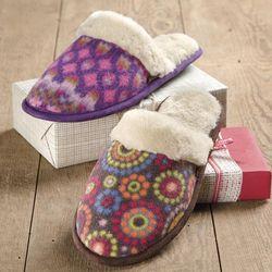 Women's Polar Scuff Slippers