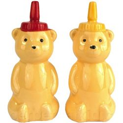 Honey Bears Salt and Pepper Shakers