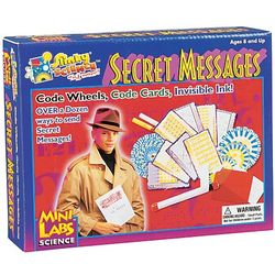 Kid's Secret Message Detective Kit