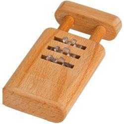 Wooden Combination Lock Puzzle