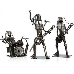 Heavy Metal Band Auto Part Sculptures