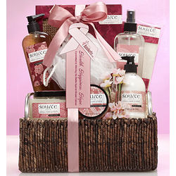 Wonderful You Cherry Blossom Scented Gift Basket