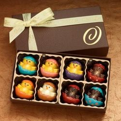 Easter Chicks Boutique Chocolate Truffles