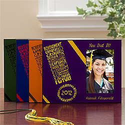 Personalized Graduation Excitement Picture Frame