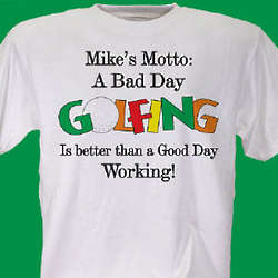 Bad Day Golfing T-Shirt
