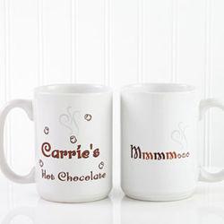 Personalized Hot Chocolate Mug