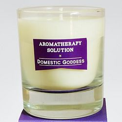Domestic Goddess Aromatherapy Solution Candle