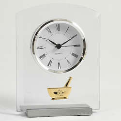Novo Pharmacist Glass Clock