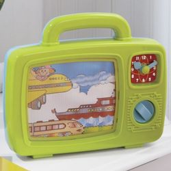 Musical TV Windup Toy