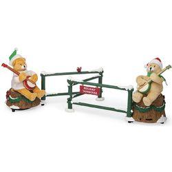 Dueling Banjo Bears Musical Holiday Decor