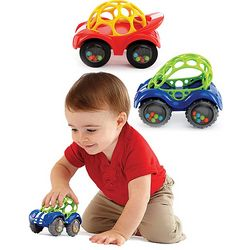 Rattle and Roll Toy Car
