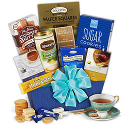 Sweets and Teas Gourmet Gift Basket