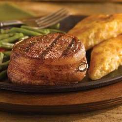 Bacon-Wrapped Filet Mignons