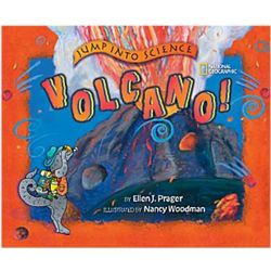 Jump into Science Volcano Children's Book