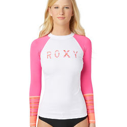 Women's Perfect Stripe Long Sleeve Rashguard