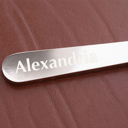 Personalized Nickel-Plated Letter Opener