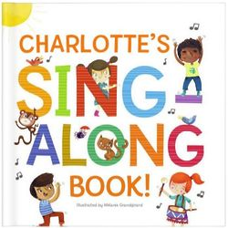 My Sing-Along Book & Personalized Music