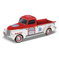 Thirsty For The Open Road Budweiser-Themed Truck Sculpture