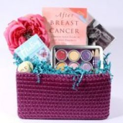 You Did It! End of Treatment Breast Cancer Basket