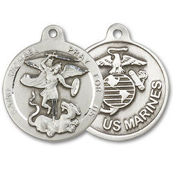 St. Michael US Marines Medal