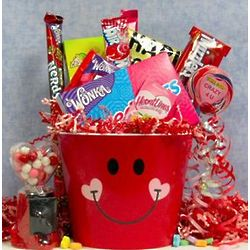 Pucker Up Candy Gift Basket
