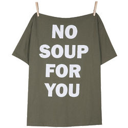 No Soup for You Seinfeld T-Shirt