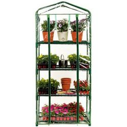 Home and Garden 4-Shelf Greenhouse